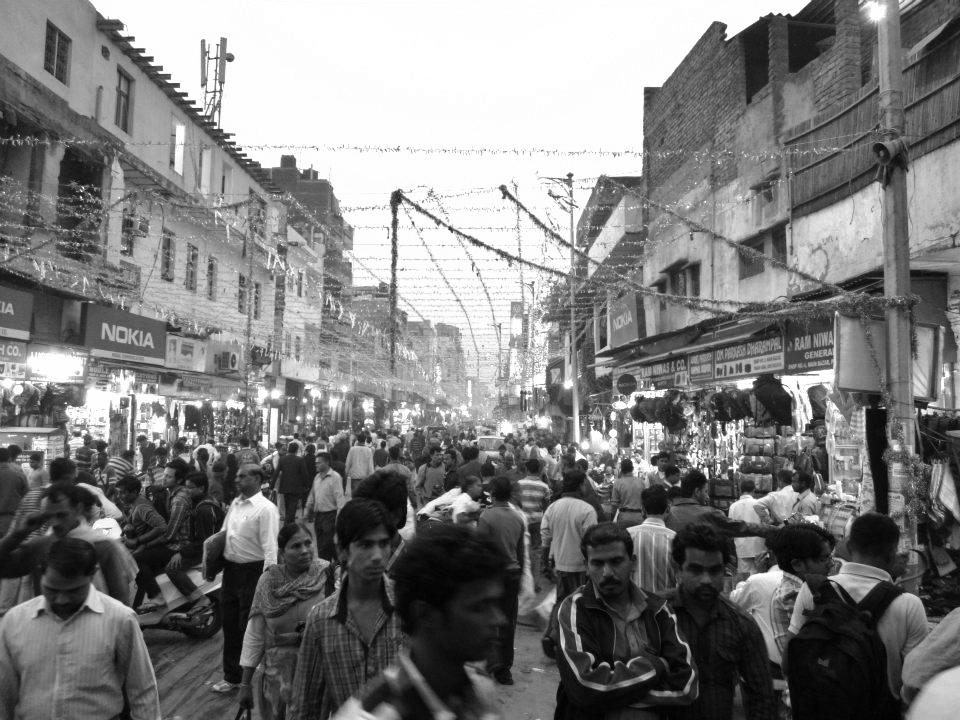 På promenad i Calcutta