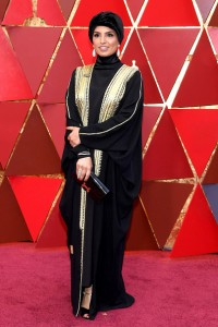 HOLLYWOOD, CA - MARCH 04: Fatma Al Remaihi attends the 90th Annual Academy Awards at Hollywood & Highland Center on March 4, 2018 in Hollywood, California. (Photo by Kevork Djansezian/Getty Images)