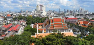 FOTO 1_Creative commons - Bangkok, Thailand, view from Golden Mt. - by Milei Vencel