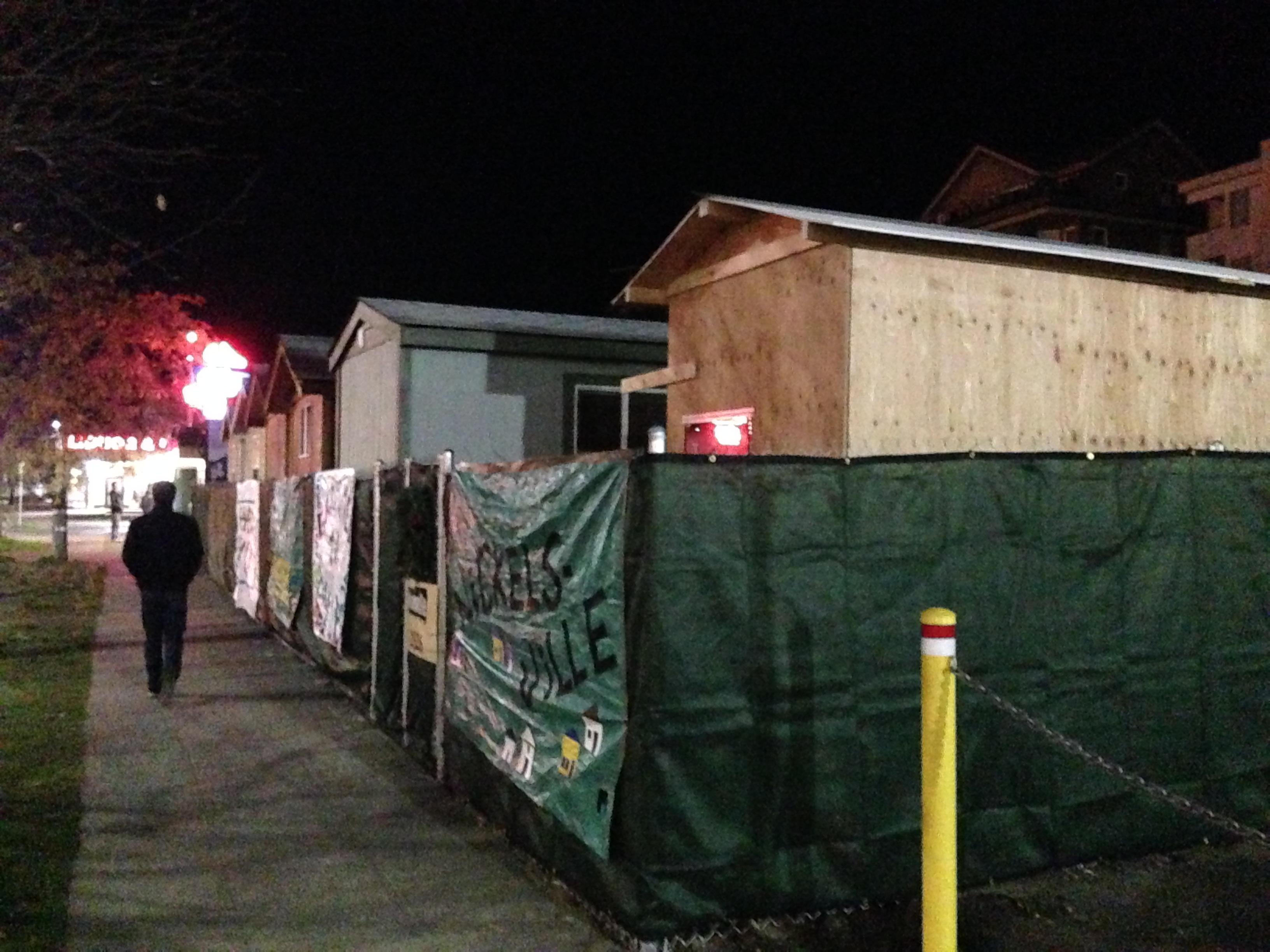De hemlösas hem: Nickelsville