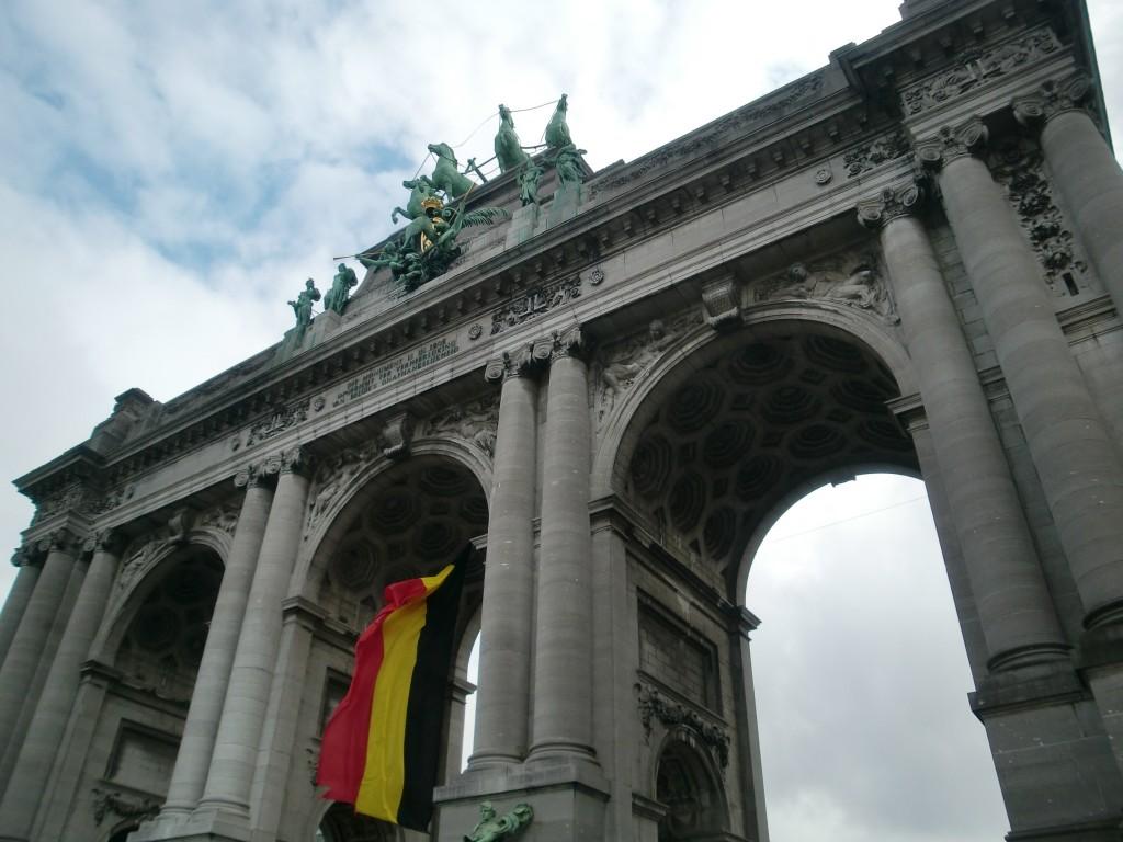Parc du Cinquantenaire - triumphal arch