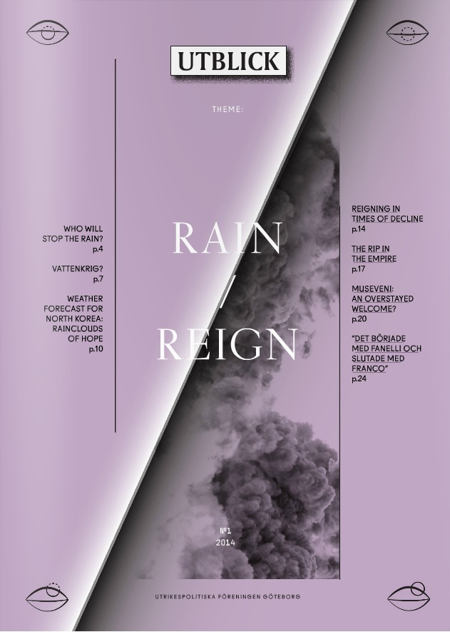 New Issue of Utblick: Rain/Reign