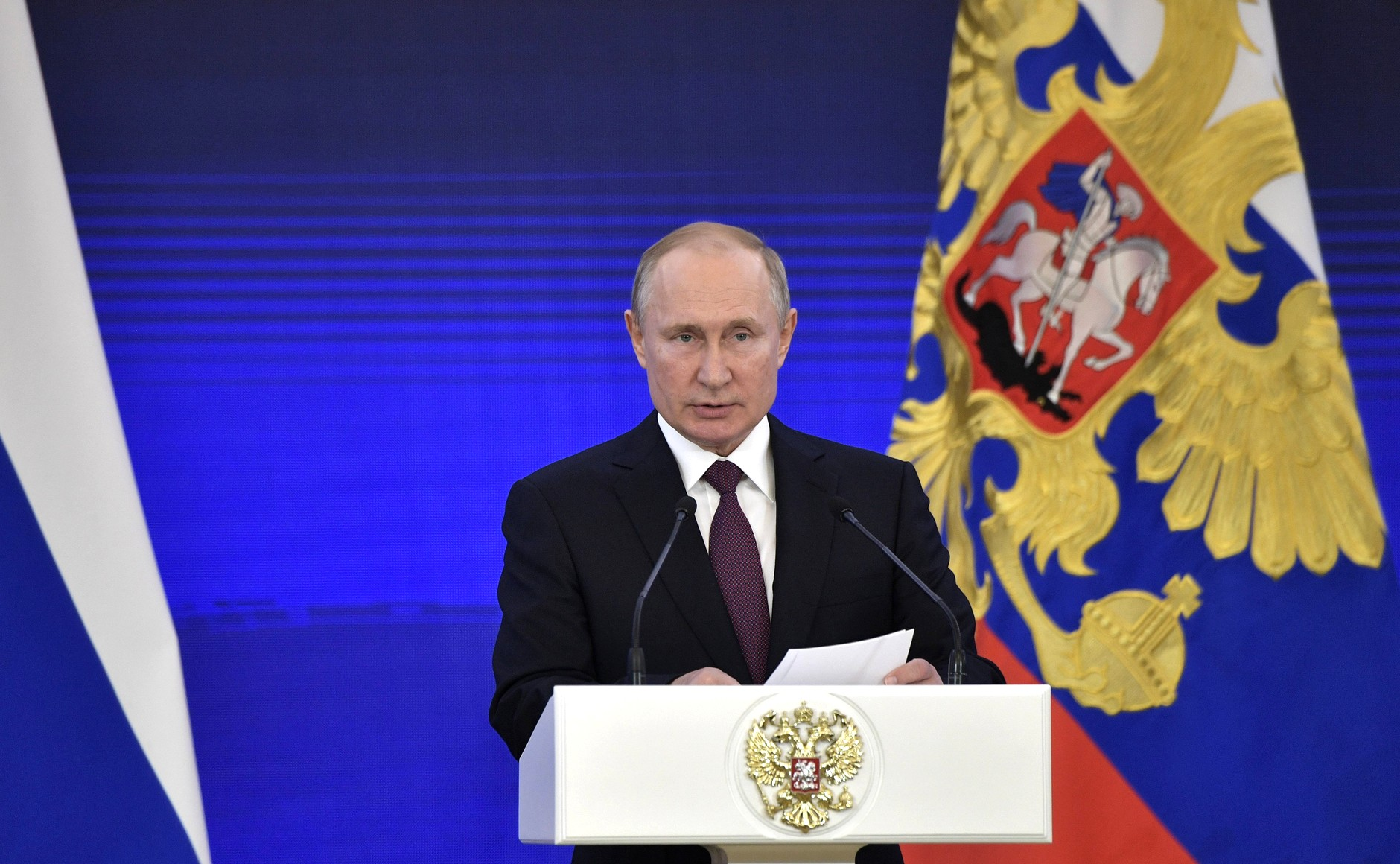 Vladimir Putin, President of the Russian Federation (credits: kremlin.ru)