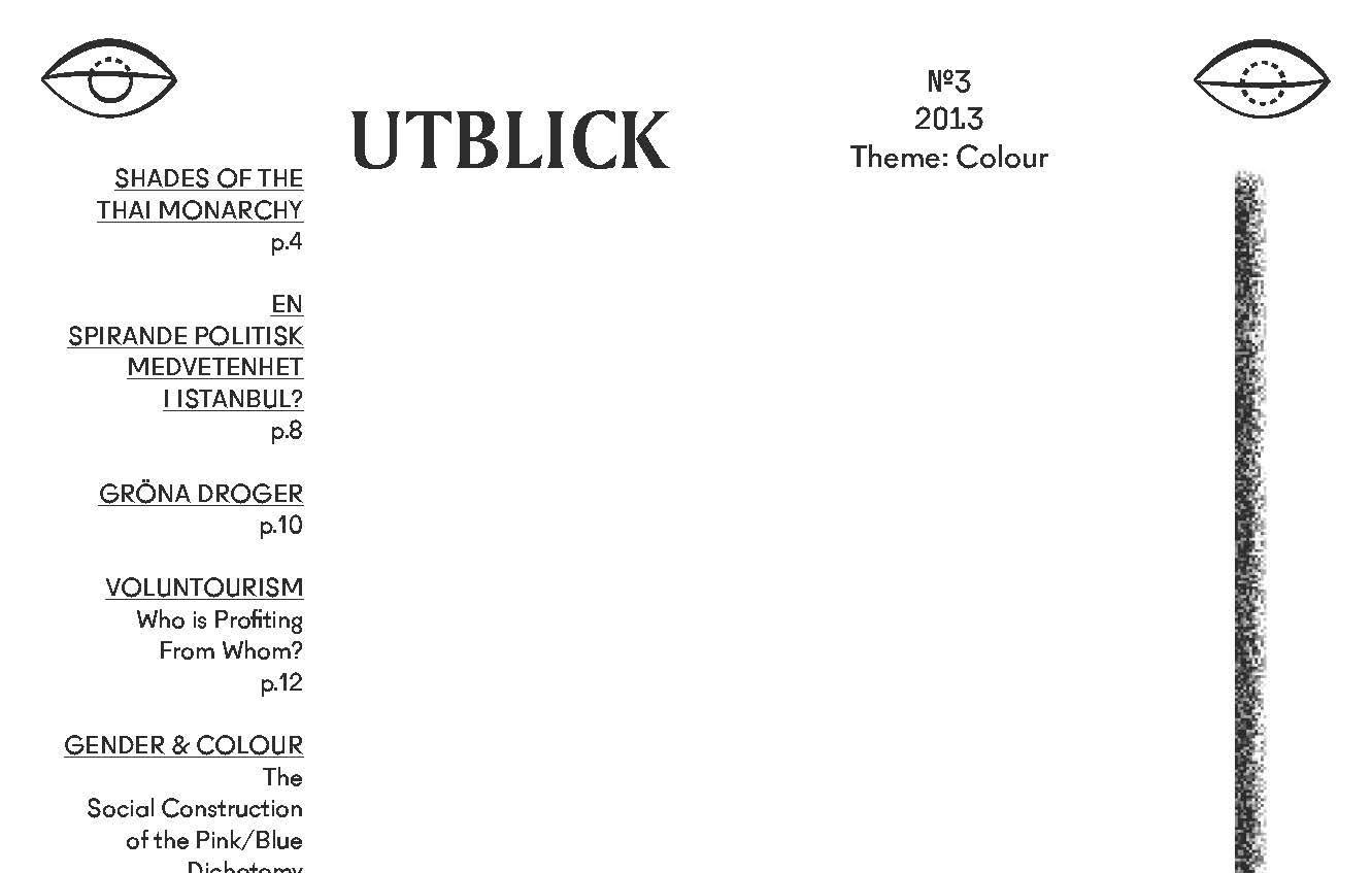 New Issue of Utblick: Colours