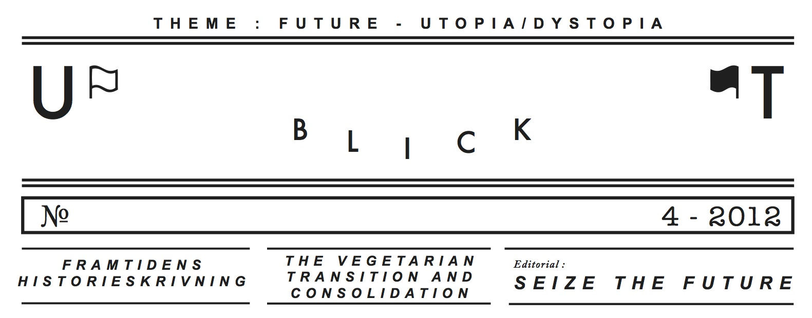 New Issue of Utblick Released!