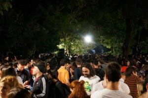 Ungdomsfestival, Aten. Foto: Amanda Seebass